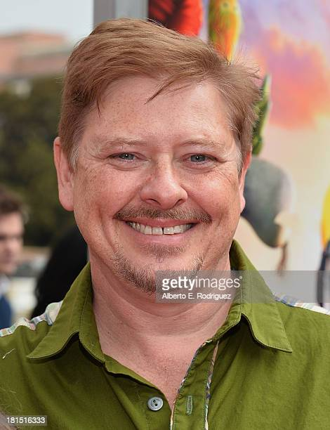 Actor Dave Foley arrives to the premiere of Columbia Pictures and Sony Pictures Animation's Cloudy With A Chance of Meatballs 2 at the Regency...
