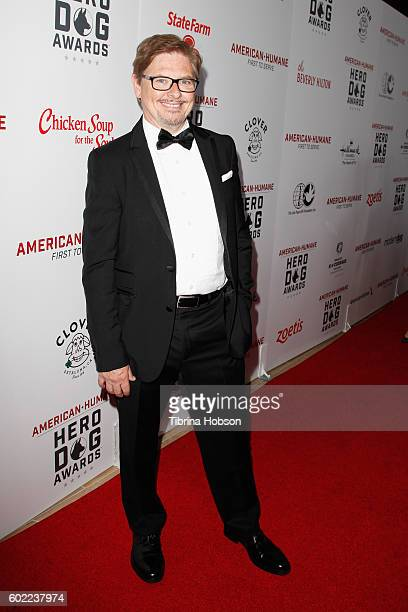 Actor Dave Foley attends the Sixth Annual American Humane Association Hero Dog Awards at The Beverly Hilton Hotel on September 10 2016 in Beverly...