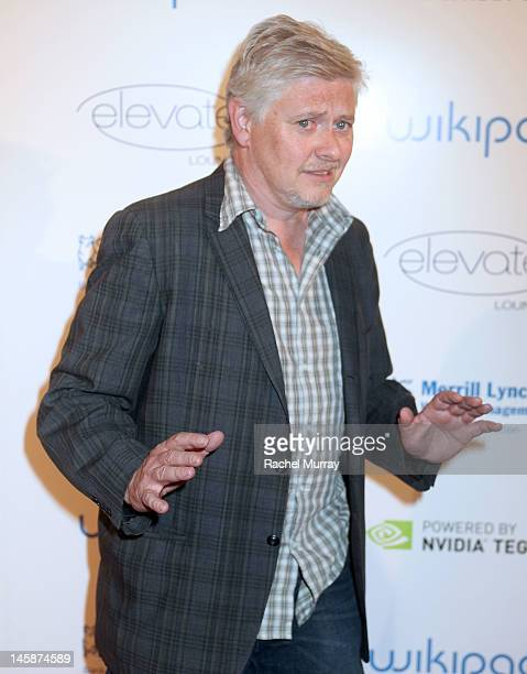 Actor Dave Foley attends the VIP red carpet cocktail party hosted by WIKIPAD and NVIDIA as part of the celebrations for E3 2012 held at Elevate...