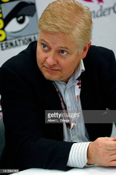 Actor Dave Foley participates in 2012 WonderCon Day 3 held at Anaheim Convention Center on March 18 2012 in Anaheim California