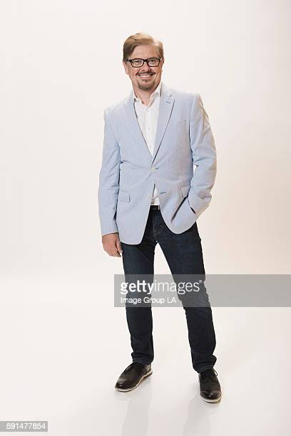 Actor Dave Foley poses for a portraits at the Beverly Hills Ballroom of The Beverly Hilton in Beverly Hills at Disney | ABC Television Group's...