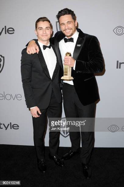 Actor Dave Franco and filmmakeractor James Franco attends 19th Annual PostGolden Globes Party hosted by Warner Bros Pictures and InStyle at The...