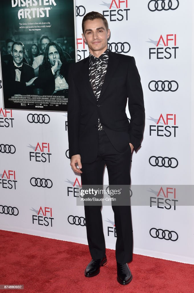 Actor Dave Franco arrives at the AFI FEST 2017 presented by Audi - screening of 'The Disaster Artist' at TCL Chinese Theatre on November 12, 2017 in Hollywood, California.