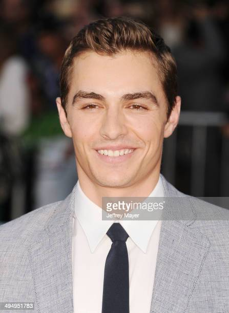 Actor Dave Franco arrives at the Los Angeles premiere of 'Neighbors' at Regency Village Theatre on April 28 2014 in Westwood California