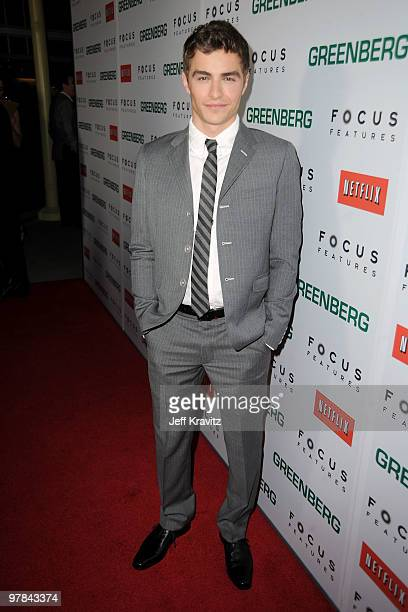 Actor Dave Franco arrives at the premiere of 'Greenberg' presented by Focus Features at ArcLight Hollywood on March 18 2010 in Hollywood California