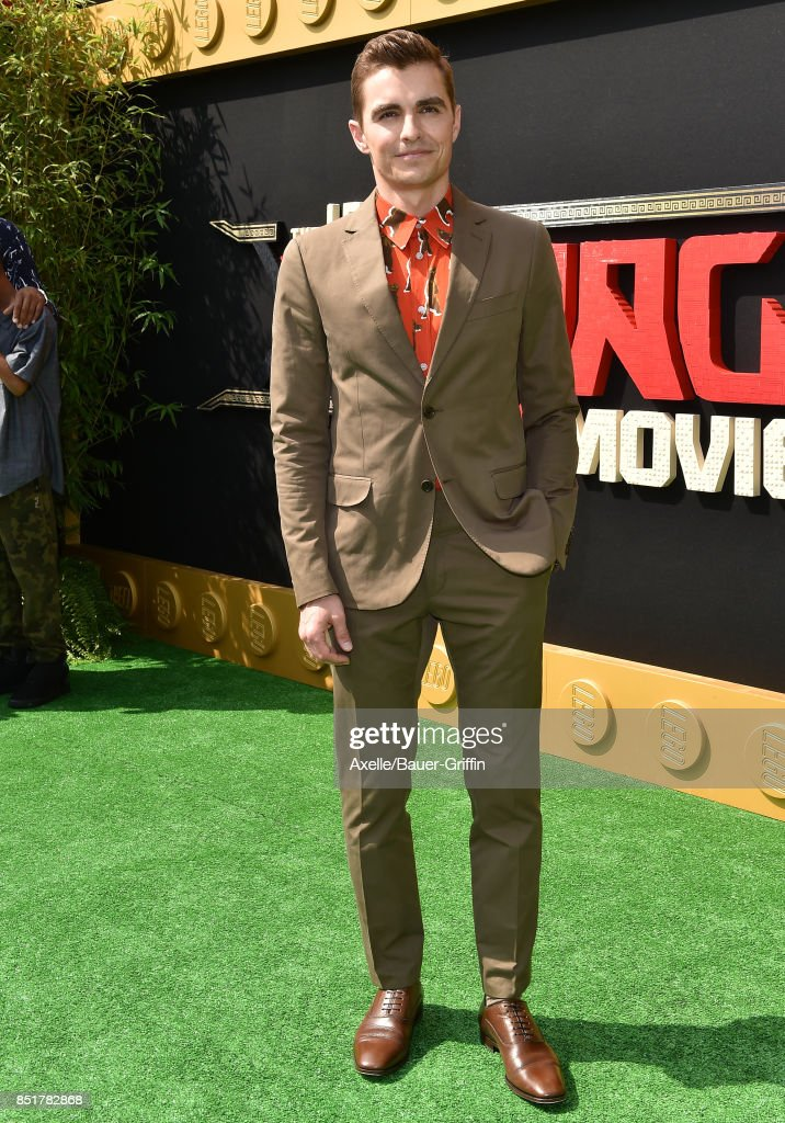 Actor Dave Franco arrives at the premiere of 'The LEGO Ninjago Movie' at Regency Village Theatre on September 16, 2017 in Westwood, California.