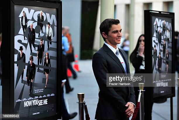 Actor Dave Franco arrives at the Screening Of Summit Entertainment's Now You See Me at ArcLight Hollywood on May 23 2013 in Hollywood California