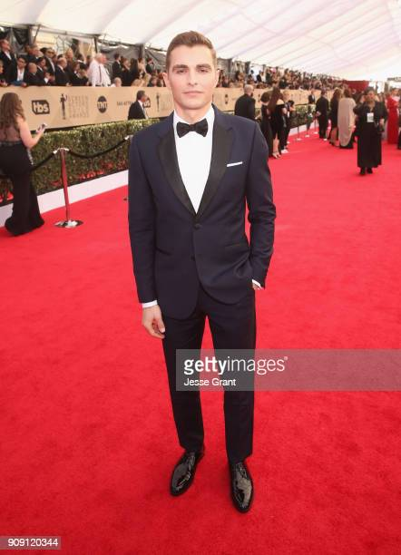 Actor Dave Franco attends the 24th Annual Screen Actors Guild Awards at The Shrine Auditorium on January 21 2018 in Los Angeles California