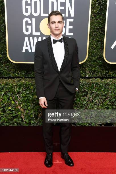 Actor Dave Franco attends The 75th Annual Golden Globe Awards at The Beverly Hilton Hotel on January 7 2018 in Beverly Hills California