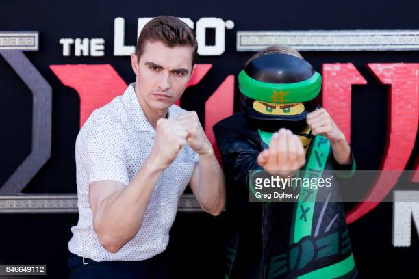 Actor Dave Franco attends the Green Ninja photo opp for Warner Bros Pictures' The LEGO Ninjago Movieat LEGOLAND on September 13 2017 in Carlsbad...