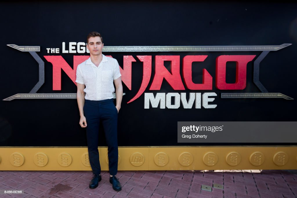 Actor Dave Franco attends the Green Ninja photo opp for Warner Bros. Pictures' 'The LEGO Ninjago Movie'at LEGOLAND on September 13, 2017 in Carlsbad, California.