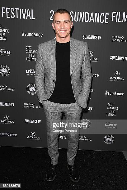 Actor Dave Franco attends The Little Hours premiere during day 1 of the 2017 Sundance Film Festival at Library Center Theater on January 19 2017 in...