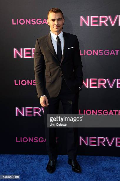Actor Dave Franco attends the New York premiere of 'Nerve' presented by Lionsgate at SVA Theater on July 12 2016 in New York City