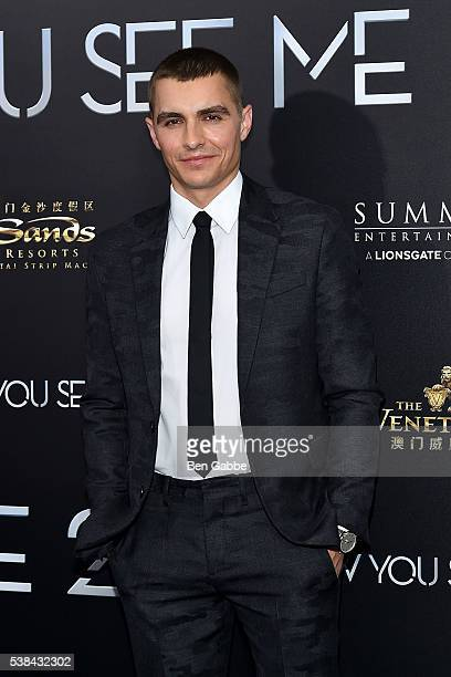Actor Dave Franco attends the Now You See Me 2 World Premiere at AMC Loews Lincoln Square 13 theater on June 6 2016 in New York City