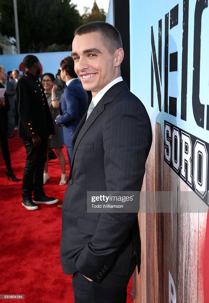 Actor Dave Franco attends the premiere of Universal Pictures' 'Neighbors 2: Sorority Rising' at the Regency Village Theatre on May 16, 2016 in Westwood, California.