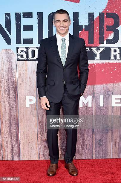 Actor Dave Franco attends the premiere of Universal Pictures' 'Neighbors 2 Sorority Rising' at the Regency Village Theatre on May 16 2016 in Westwood...