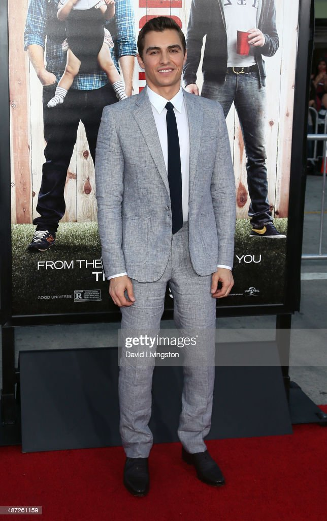 Actor Dave Franco attends the premiere of Universal Pictures' 'Neighbors' at Regency Village Theatre on April 28, 2014 in Westwood, California.