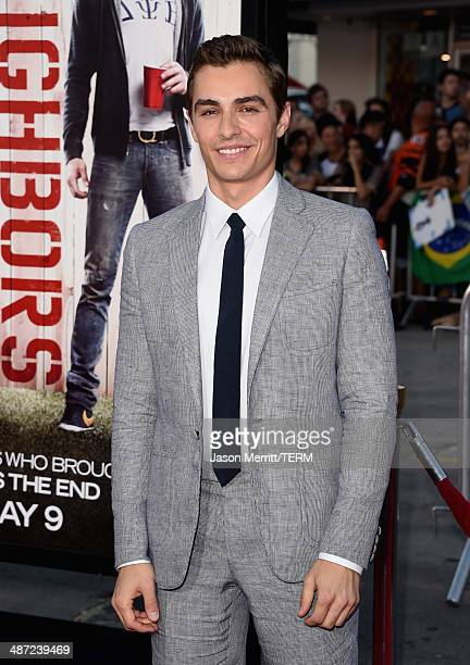 """Actor Dave Franco attends Universal Pictures' """"Neighbors"""" premiere at Regency Village Theatre on April 28, 2014 in Westwood, California."""