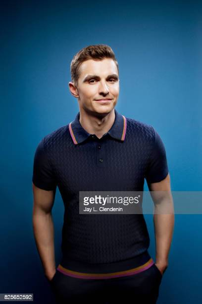 Actor Dave Franco from the film 'The Lego Ninjago Movie' is photographed in the LA Times photo studio at ComicCon 2017 in San Diego CA on July 21...