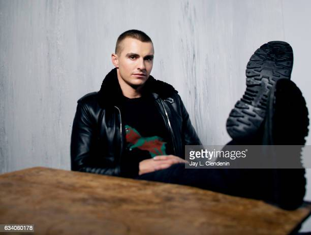 Actor Dave Franco from the film Thoroughbred is photographed at the 2017 Sundance Film Festival for Los Angeles Times on January 20 2017 in Park City...