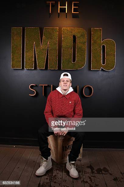 Actor Dave Ivanov of Beach Rats attends The IMDb Studio featuring the Filmmaker Discovery Lounge presented by Amazon Video Direct Day Four during The...
