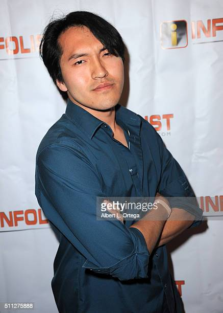Actor Dave Jia arrives for the InfoList PreOscar Soiree And Birthday Party for Jeff Gund held at OHM Nightclub on February 18 2016 in Hollywood...