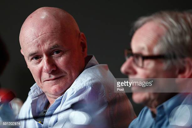 Actor Dave Johns attends the 'I Daniel Blake' press conference during the 69th annual Cannes Film Festival at the Palais des Festivals on May 13 2016...