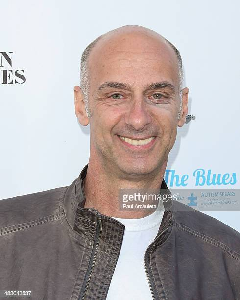 Actor Dave Marciano attends the 2nd Light Up The Blues concert an evening of music to benefit Autism Speaks at The Theatre At Ace Hotel on April 5...