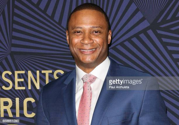 Actor Dave Ramsey attends the BET's 2017 American Black Film Festival Honors Awards at The Beverly Hilton Hotel on February 17 2017 in Beverly Hills...