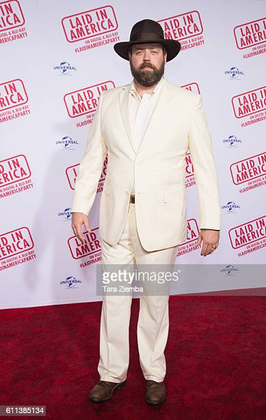 Actor Daved Wilkins attends the premiere of 'Laid In America' at AMC Universal City Walk on September 28 2016 in Universal City California
