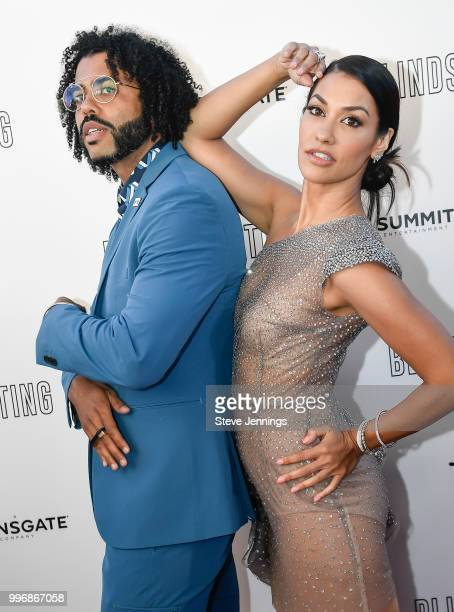 Actor Daveed Diggs and Actress Janina Gavankar attend the Premiere of Summit Entertainment's 'Blindspotting' at The Grand Lake Theater on July 11...