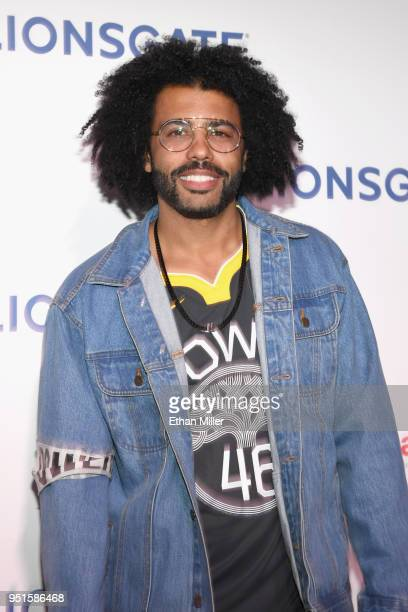 Actor Daveed Diggs attends CinemaCon 2018 Lionsgate Invites You to An Exclusive Presentation Highlighting Its 2018 Summer and Beyond at The Colosseum...