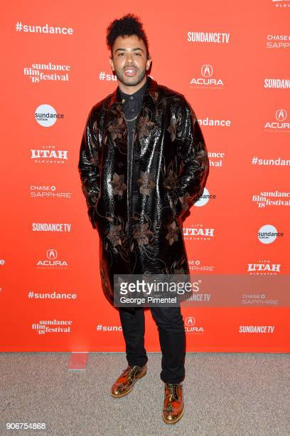 Actor Daveed Diggs attends the Blindspotting Premiere during the 2018 Sundance Film Festival at Eccles Center Theatre on January 18 2018 in Park City...