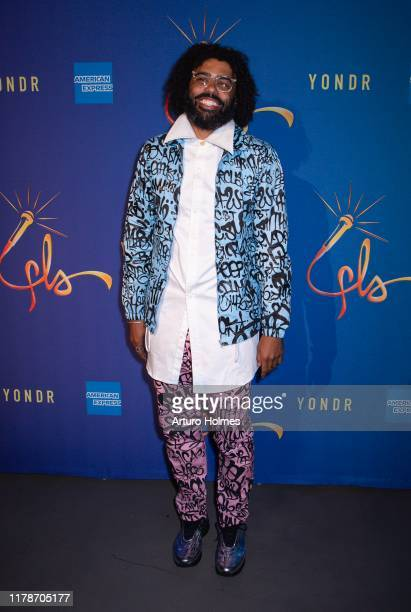 Actor Daveed Diggs attends the Freestyle Love Supreme after party at Second on October 02 2019 in New York City