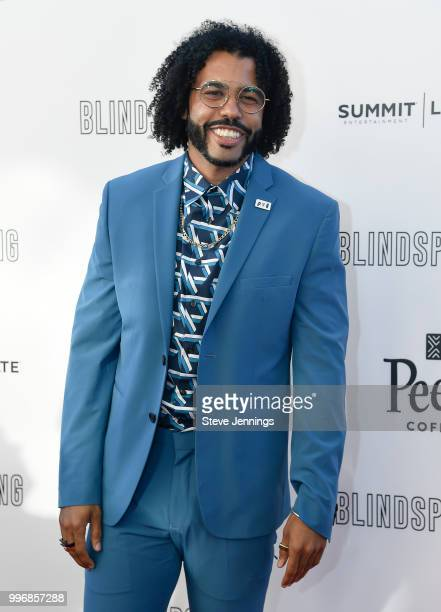 Actor Daveed Diggs attends the Premiere of Summit Entertainment's Blindspotting at The Grand Lake Theater on July 11 2018 in Oakland California