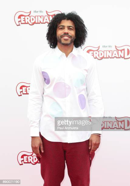 Actor Daveed Diggs attends the screening of 'Ferdinand' at The Zanuck Theater at 20th Century Fox Lot on December 10 2017 in Los Angeles California