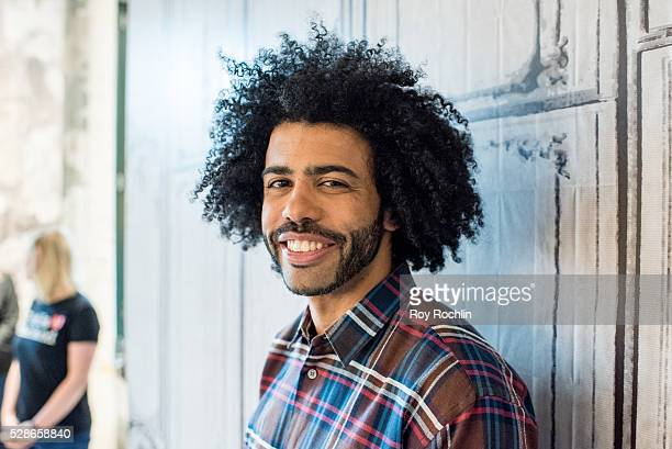 Actor Daveed Diggs discusses Hamilton with AOL build at AOL Studios In New York on May 6 2016 in New York City
