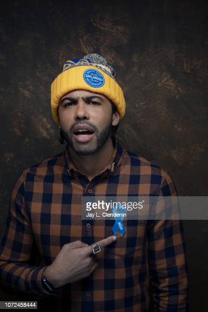 Actor Daveed Diggs from Blindspotting is photographed for Los Angeles Times on January 19 2018 in the LA Times Studio at Chase Sapphire on Main...
