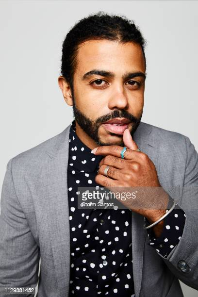 Actor Daveed Diggs is photographed for Sharp Magazine on May 1 2018 in Los Angeles California PUBLISHED IMAGE