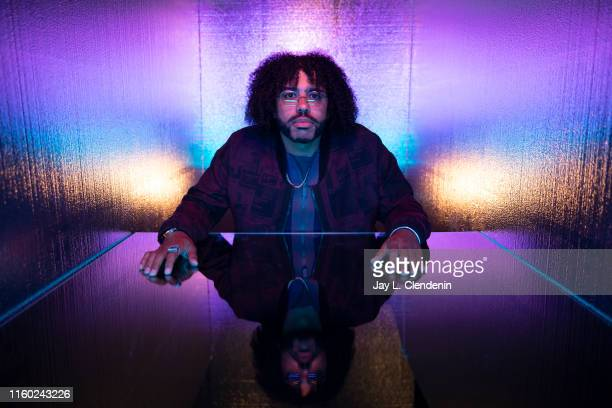 Actor Daveed Diggs of 'Snowpiercer' is photographed for Los Angeles Times at ComicCon International on July 20 2019 in San Diego California PUBLISHED...