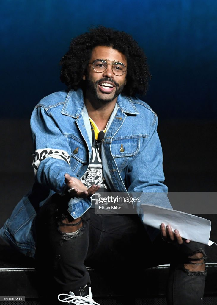 Actor Daveed Diggs speaks onstage during CinemaCon 2018 Lionsgate Invites You to An Exclusive Presentation Highlighting Its 2018 Summer and Beyond at The Colosseum at Caesars Palace during CinemaCon, the official convention of the National Association of Theatre Owners, on April 26, 2018 in Las Vegas, Nevada.