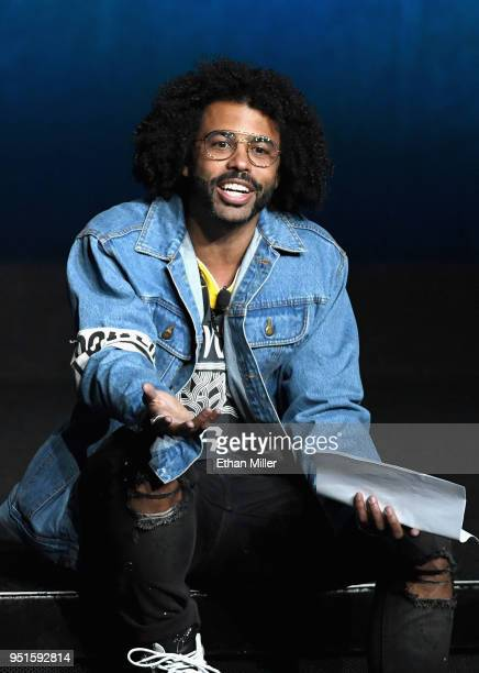 Actor Daveed Diggs speaks onstage during CinemaCon 2018 Lionsgate Invites You to An Exclusive Presentation Highlighting Its 2018 Summer and Beyond at...