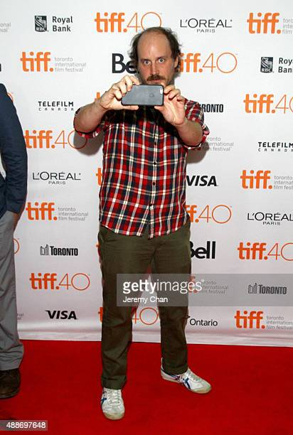 Actor Davey Johnson attends the Southbound photo call during the 2015 Toronto International Film Festival at Ryerson Theatre on September 16 2015 in...