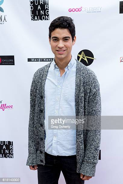 Actor Davi Santos arrives for the Breaking The Chains Foundation And Glitter Magazine First Annual Fall Reception at a private residence on October...