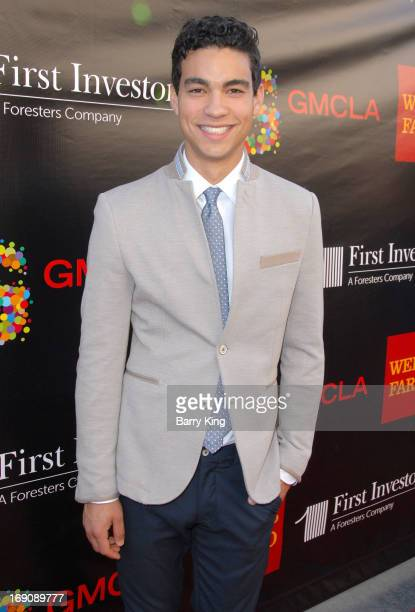 Actor Davi Santos attends the Gay Men's Chorus Of Los Angeles 2nd Annual Voice Awards on May 19 2013 at The Globe Theatre in Universal City California