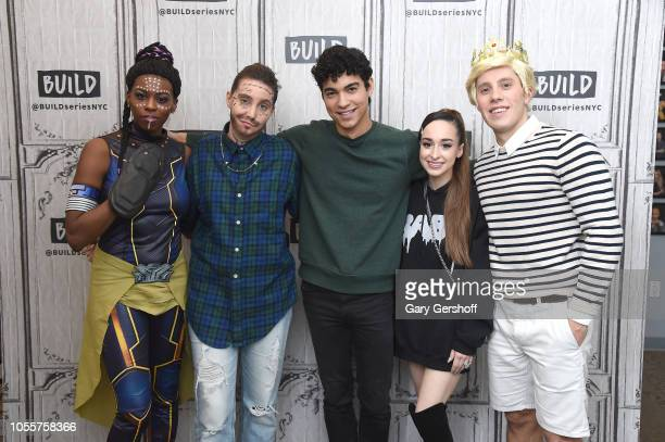 Actor Davi Santos visits Build Series with hosts Brittany JonesCooper Shannon Coffey Ali Kolbert and Lukas Thimm to discuss the CBS All Access series...