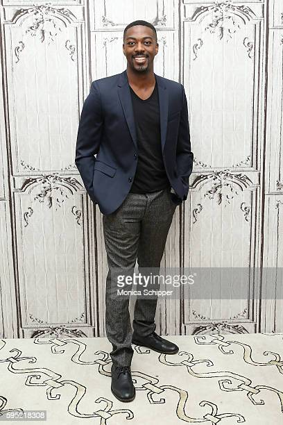 Actor David Ajala attends AOL Build Presents David Ajala discussing The USA Network's Falling Water at AOL HQ on August 25 2016 in New York City
