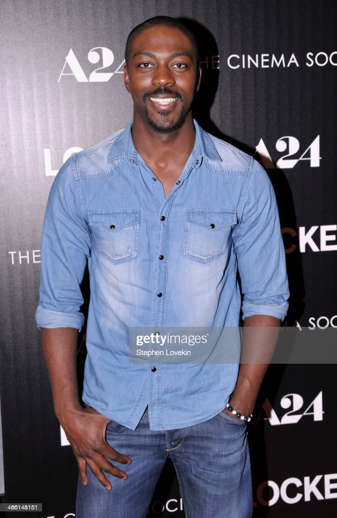 Actor David Ajala attends the A24 and The Cinema Society premiere of 'Locke' at The Paley Center for Media on April 22, 2014 in New York City.