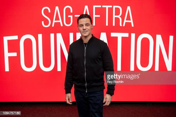Actor David Alan Basche attends during SAGAFTRA Foundation Conversations Egg at The Robin Williams Center on January 15 2019 in New York City