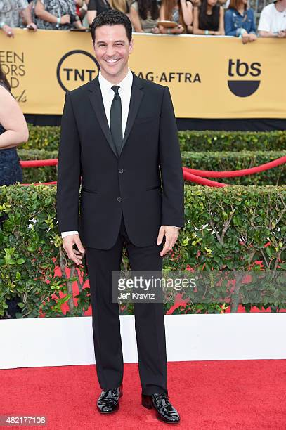 Actor David Alan Basche attends the 21st Annual Screen Actors Guild Awards at The Shrine Auditorium on January 25 2015 in Los Angeles California